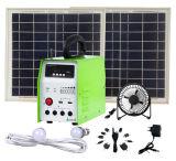 Kit solari di campeggio 20W degli indicatori luminosi solari del sistema solare di turismo
