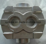 Снабжение жилищем насоса OEM и отливки и подвергать механической обработке стальное