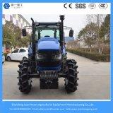 125HP 4WD Gran Agricultura / Granja / Caminar / Mini / Tractor compacto con cabina y aire acondicionado