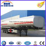 3 fuelóleo inflamável do aço de carbono do eixo 50cbm/petroleiro de serviço público do diesel/gasolina/petróleo cru com silo 4