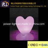 RGB Chaniging再充電可能な照らされたプラスチックLEDの中心ランプ