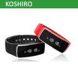 Bracelete de relógio esperto de Bluetooth do perseguidor da atividade