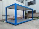 中国の洗面所(容器の小屋)が付いているプレハブの移動式容器の家