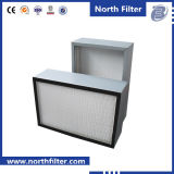 Mini air plissé de HEPA Fiter H13/H14 pour la pièce propre