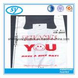 [ت] قميص شركة نقل جويّ يمتلك كيس من البلاستيك مع أنت علامة تجاريّة