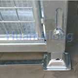 Austrália dobrou o empilhamento da gaiola galvanizada engranzamento da pálete do metal do armazenamento