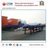 Degli Tri-Assi di carico di trasporto rimorchio pratico a base piatta del camion semi