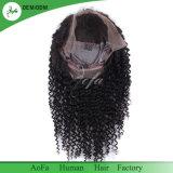 Volles Spitze-Perücke-Menschenhaar-natürliches Farbe 1b-Brasilianer-Haar