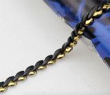 Bracelet magnétique d'énergie d'anion infrarouge d'acier inoxydable
