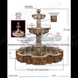 Marmeren Ny van de Fontein van het Graniet van de Fontein van de Steen van de Fontein Rode Fontein mf-1038
