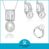 Quaility Filigree 925 Sterling Silver Jewelry Set für Ladys (J-0086)