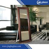 Rester rectifiant le miroir grand d'étage de miroir