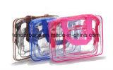 Sac d'emballage de cadeau d'article de toilette de renivellement de PVC dans le sac de produit de beauté de course de jeux de sac