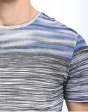 2015 смешанное Color All Over Printed Strip Men Tshirt для Summer