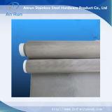 Engranzamento de fio do aço inoxidável dos Ss 304 para o filtro líquido