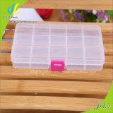 Injeção plástica plástica do plástico da caixa da jóia do recipiente plástico do produto da caixa de armazenamento