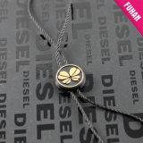 Personalizado de la ropa / de la joyería en relieve de plástico de Cuerda del sello Etiquetas