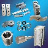 Lâmina de fragmentação e triturador de granulometria de plástico
