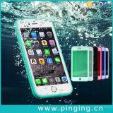 iPhone 7을%s 방수 이동 전화 상자 덮개 물 증거