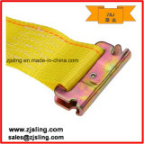 "2 ""x 12 'Yellow E-Track correas de sujeción - Cam Buckle"