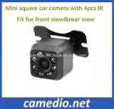 Mini câmera do carro da visão noturna de Suqre com o 8PCS IR/LED cabido para a opinião de Rearview&Front