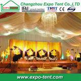 Tenda indiana Corridoio di cerimonia nuziale con lusso all'interno della decorazione