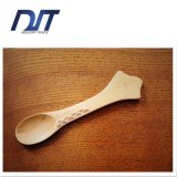 工場直接Zakkaの創造的で旧式な木製のデザートスプーン