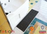 Esteira tecida PVC moderna popular do banheiro do vinil da esteira com revestimento protetor do PVC