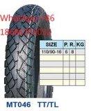 Neumático 110/90-16 110/90-17 110/90-18 de la motocicleta