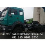 Beiben Ng80 6X4 Traktor-Kopf 420HP (WEICHAI BOSCH Dieselpumpe)