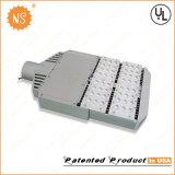 Lâmpada de rua listada do diodo emissor de luz do UL Dlc IP65 6400lm 60W com sensor leve