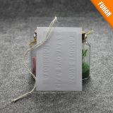 Kundenspezifische Plastiktasche mit prägen Firmenzeichen-Kleid-Fall-Marke