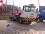 Vrachtwagen van de Tractor van de Werf van de Vrachtwagen van de Tractor van Shacman 4X2 de Eind