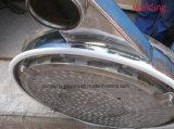 A circular do amido de batata do aço inoxidável vibra a peneira