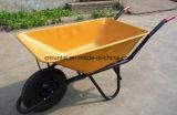 Тачка Wb6401 колеса прочной горячей конструкции надувательства пневматическая
