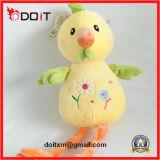 Brinquedo enchido macio da galinha da galinha do bordado do animal enchido