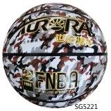 Precio bajo del precio barato del OEM de la alta calidad del baloncesto de los paneles de la PU 8 colorido