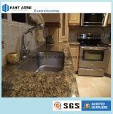 Surface solide de pierre artificielle de quartz pour le matériau de construction de dessus de vanité de dessus de cuisine