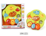 Plastikkarikatur-Baby-Spielzeug-Ring-Handy mit Musik (1061229)