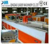 Le cadre de porte de guichet de PVC WPC profile l'extrusion effectuant la centrale