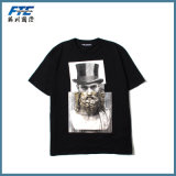 Kundenspezifische Unisexform-Baumwolle gedrucktes T-Shirt