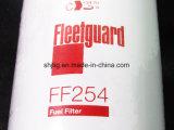 Filtro de combustível FF254 para caminhões de descarga de Volvo, máquinas escavadoras, carregadores