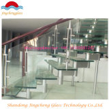 vidrio laminado templado 8m m con 0.76 PVB