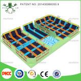 Parque de diversões Indoor Playground Trampoline de China Wenzhou Skyzone Type com Foam Pit