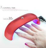 Светильник геля портативной миниой радуги светильника СИД форменный леча для маникюра геля