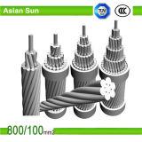 Líneas de transmisión de potencia conductor de ACSR con BS, estándar de ASTM