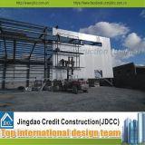 Edificio de acero de la fábrica y del taller del bajo costo