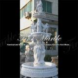 Marmeren Fontein mf-394 van Carrara van de Fontein van het Graniet van de Steen Witte