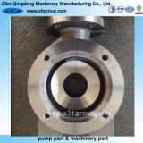 Enveloppe Volute de pompe de /Chemical de pompe centrifuge de moulage au sable/pompe à eau