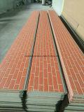 Incêndio da folha de alumínio - painel de parede resistente do tijolo